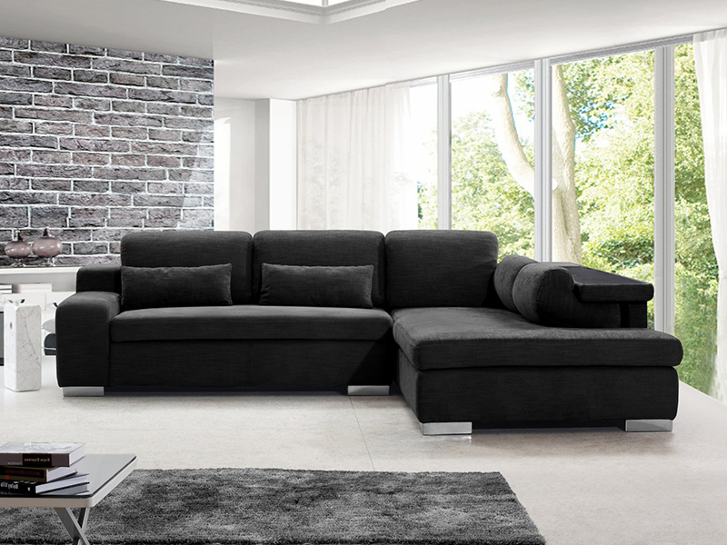 stoff ecksofa grenoble eckcouch wohnlandschaft von. Black Bedroom Furniture Sets. Home Design Ideas