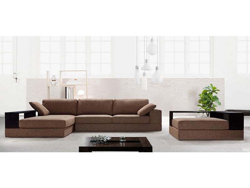 stoff ecksofa toulon eckcouch wohnlandschaft von salottini. Black Bedroom Furniture Sets. Home Design Ideas