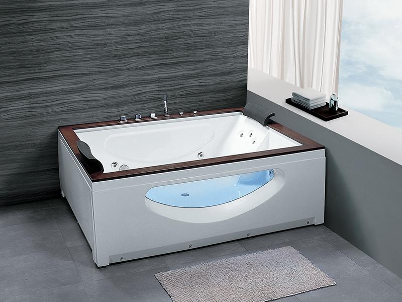 2 personen whirlpool dubbo badewanne whirlwanne teak wohnwelten24h wohnwelten24h. Black Bedroom Furniture Sets. Home Design Ideas