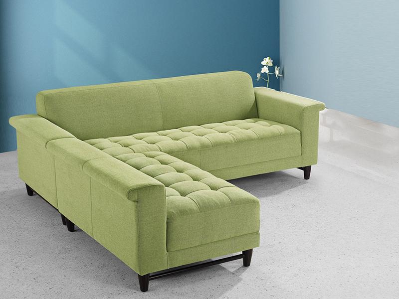 stoff ecksofa dijon eckcouch wohnlandschaft von salottini. Black Bedroom Furniture Sets. Home Design Ideas