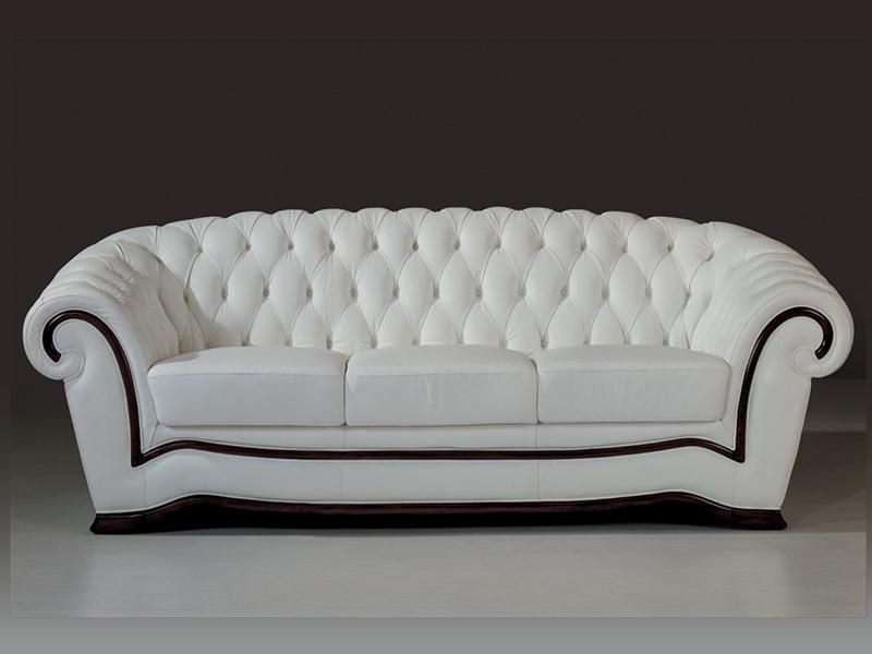3er sofa chesterfield sheffield ledersofa wohnwelten24h. Black Bedroom Furniture Sets. Home Design Ideas