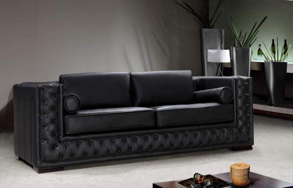 3er Ledersofa 3-Sitzer Sofa Couch Matteo Leder von Salottini