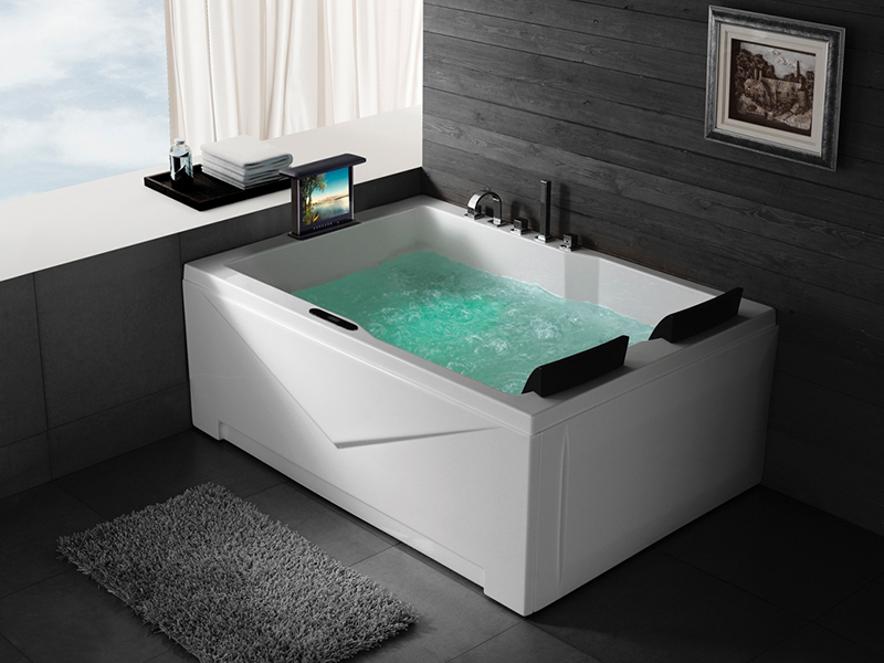 2 personen whirlpool devonport badewanne whirlwanne mit tv. Black Bedroom Furniture Sets. Home Design Ideas