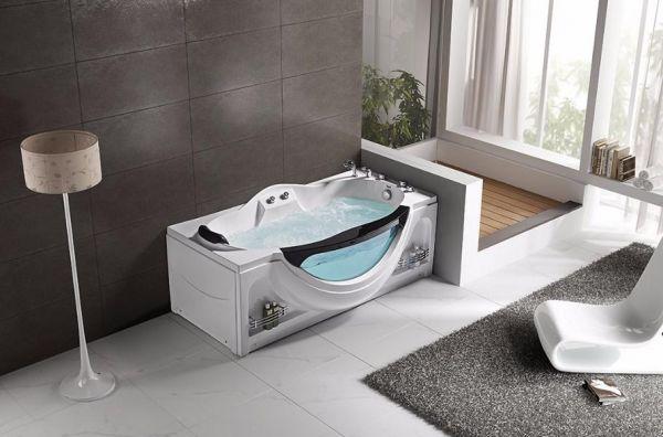 Whirlpool 170x90 Oste Badewanne Whirlwanne für 1 Person SONDERPREIS