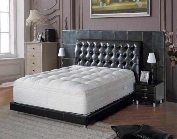 Designer Bett 160x200 Lederbett Doppelbett Livorno von Salottini