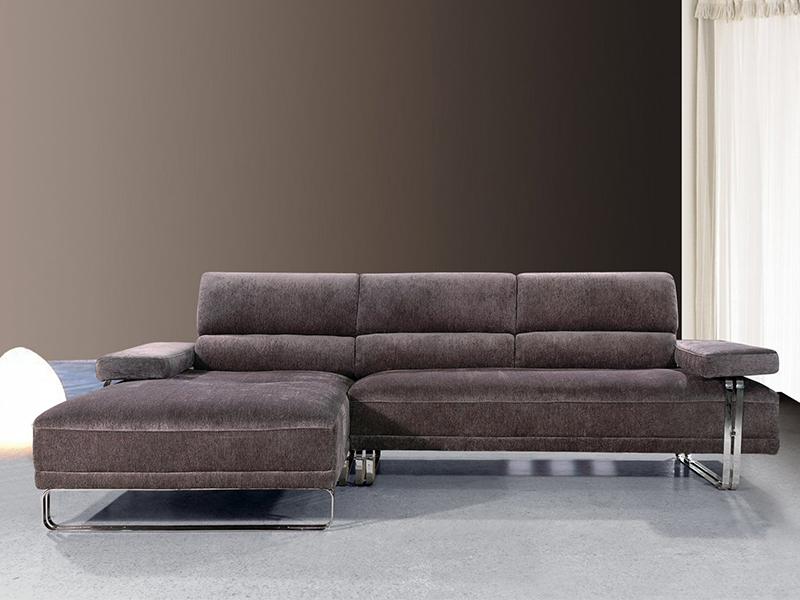 stoff ecksofa lyon eckcouch wohnlandschaft von salottini. Black Bedroom Furniture Sets. Home Design Ideas