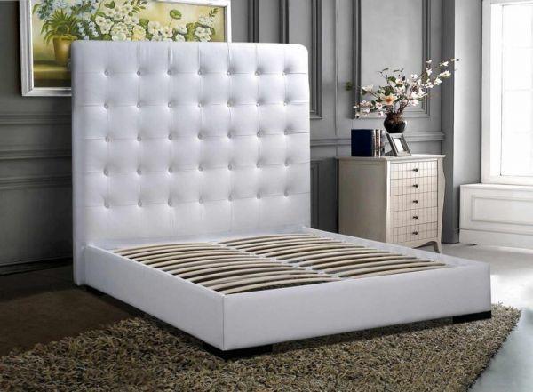 Designer Bett 160x200 Lederbett Doppelbett Foggia von Salottini