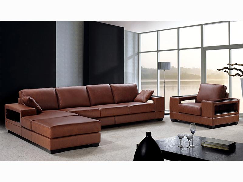 leder designer ecksofa daniele wohnwelten24h wohnwelten24h. Black Bedroom Furniture Sets. Home Design Ideas