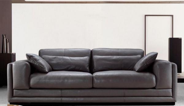 3er Ledersofa 3-Sitzer Sofa Couch Gabriele Leder von Salottini