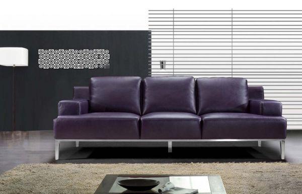 3er sofa couch mattia leder von salottini wohnwelten24h wohnwelten24h. Black Bedroom Furniture Sets. Home Design Ideas
