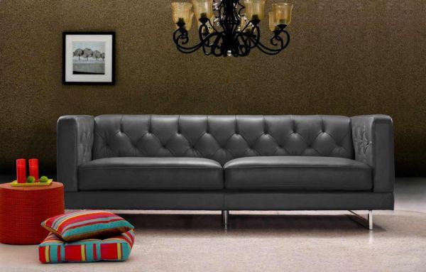 3er Ledersofa 3-Sitzer Sofa Couch Damaso Leder von Salottini