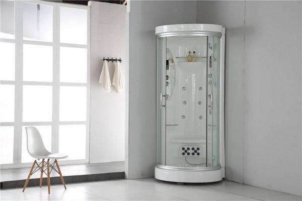 Luxus Dampfdusche Elbrus 99x99 Duschkabine für 1 Person SONDERPREIS