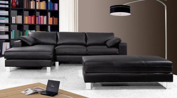 ecksofa marco eckcouch sofa leder wohnwelten24h wohnwelten24h. Black Bedroom Furniture Sets. Home Design Ideas