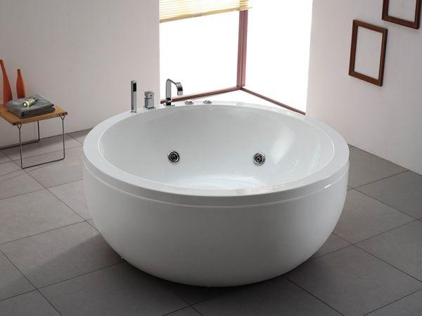 Whirlpool Albany 155x155 Badewanne Whirlwanne freistehend für 2 Personen