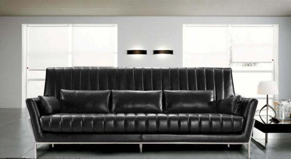 3er Ledersofa 3-Sitzer Sofa Couch Tazio Leder von Salottini