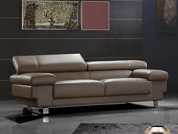 3er Ledersofa Sofa Couch Rebecca Leder von Salottini