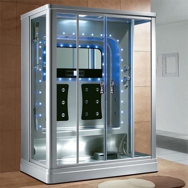 Luxus Dampfdusche Nevado 161x102 Duschkabine für 2 Personen SONDERPREIS