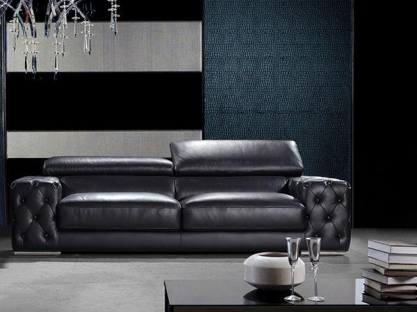 3er Ledersofa 3-Sitzer Sofa Couch Fabrizio Leder von Salottini