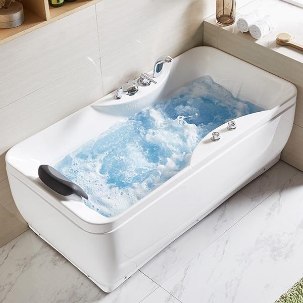 Whirlpool 150x75 Eger Badewanne Whirlwanne für 1 Person Sonderpreis