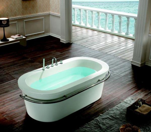 Freistehende Badewanne Memphis 175x90 für 1 Person SONDERPREIS