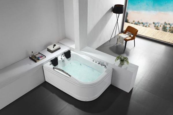 Whirlpool 170x120 Vechte Badewanne Whirlwanne für 2 Personen SONDERPREIS
