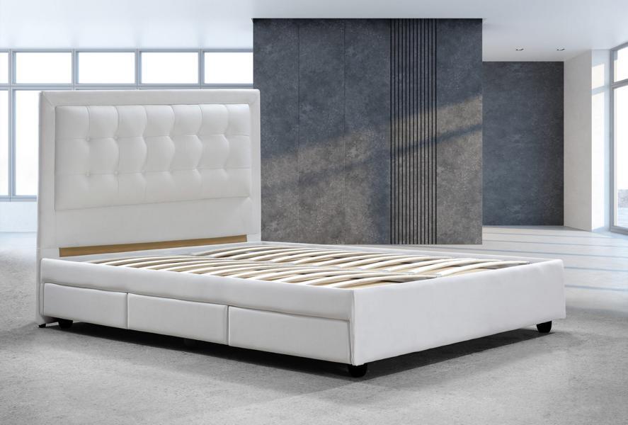 designer bett 200x200 lederbett doppelbett pescara von salottini wohnwelt24h wohnwelten24h. Black Bedroom Furniture Sets. Home Design Ideas