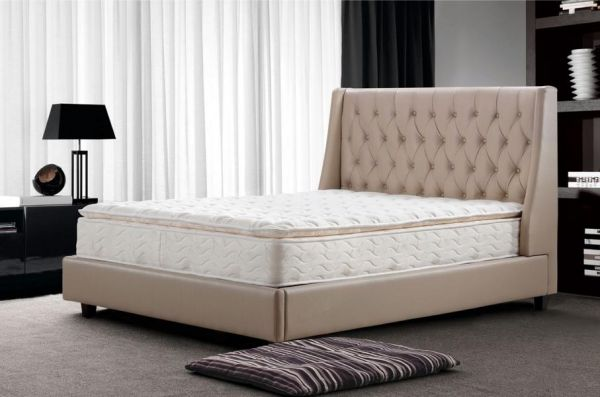 designer bett 160x200 lederbett doppelbett arezzo von salottini wohnwelt24h wohnwelten24h. Black Bedroom Furniture Sets. Home Design Ideas
