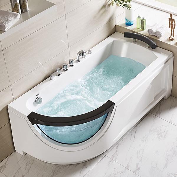 Whirlpool 170x81 Salzach Badewanne Whirlwanne für 1 Person SONDERPREIS