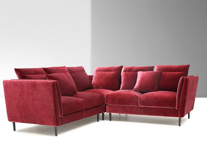 stoff ecksofa l ttich eckcouch wohnlandschaft von. Black Bedroom Furniture Sets. Home Design Ideas