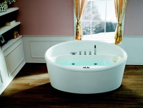 Whirlpool Virginia 170x98 Badewanne freistehend für 1 Person Sonderpreis