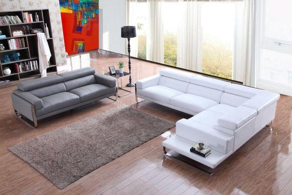ecksofa palermo 3er sofa turin wohnlandschaft sofa leder von salottini wohnwelten24h. Black Bedroom Furniture Sets. Home Design Ideas
