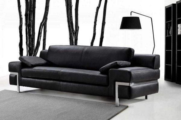 3er Ledersofa 3-Sitzer Sofa Couch Bormio Leder von Salottini
