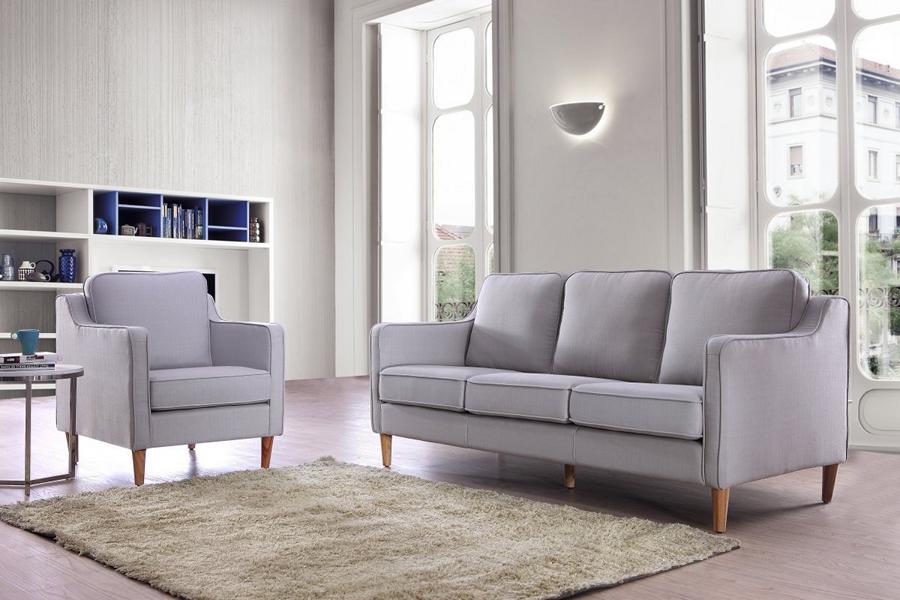 stoff sofagarnitur 3 2 1 manon polstergarnitur von salottini wohnwelt24h wohnwelten24h. Black Bedroom Furniture Sets. Home Design Ideas