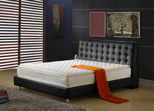 designer bett 160x200 lederbett doppelbett perugia von salottini wohnwelt24h wohnwelten24h. Black Bedroom Furniture Sets. Home Design Ideas