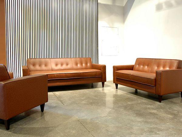 3er Ledersofa 3-Sitzer Sofa Couch Marta Leder von Salottini
