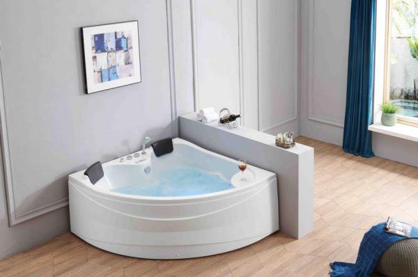 Whirlpool 150x150 Müritz 2 Personen Badewanne Whirlwanne Sonderpreis