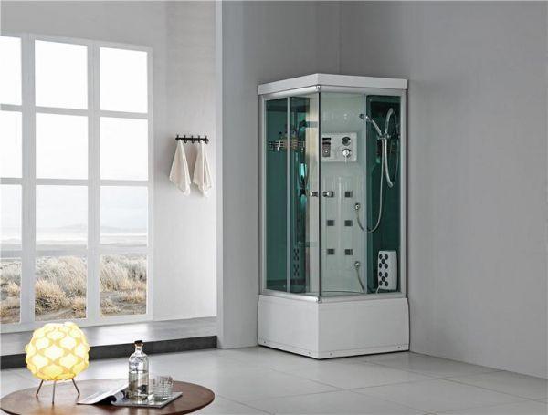 Luxus Dampfdusche Orohena 90x90 Duschkabine für 1 Person SONDERPREIS