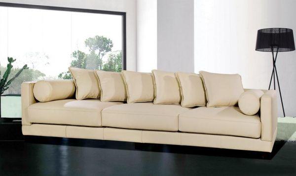 4-Sitzer Sofa Latina Leder Megasofa von Salottini