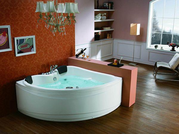 Whirlpool 150x150 Baltimore 2 Personen Badewanne Whirlwanne Sonderpreis