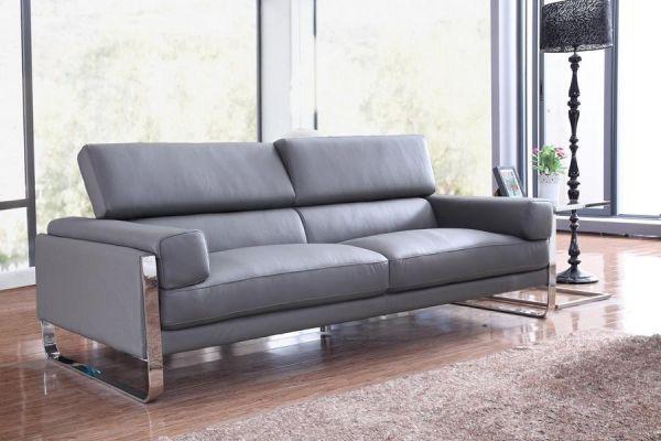 3er Ledersofa 3-Sitzer Sofa Couch Turin Leder von Salottini