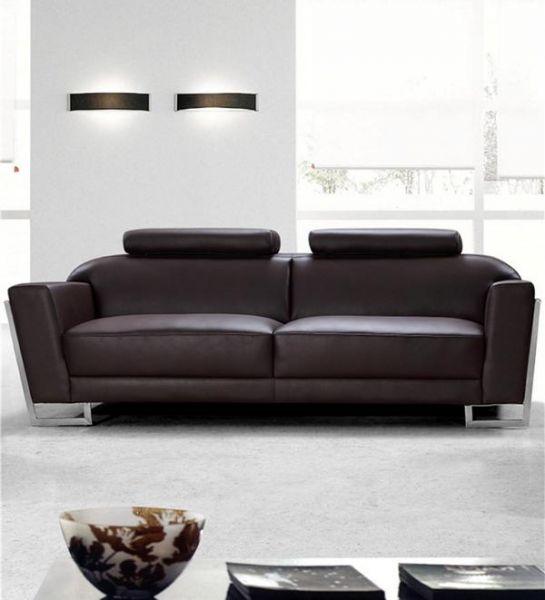 3er Ledersofa 3-Sitzer Sofa Couch Nando Leder von Salottini