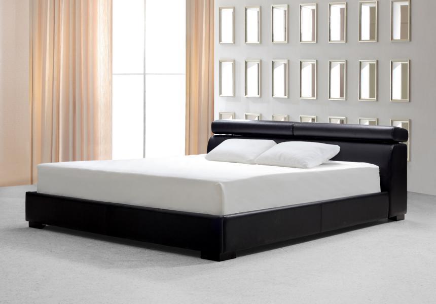 designer bett 160x200 lederbett doppelbett forli von salottini wohnwelt24h wohnwelten24h. Black Bedroom Furniture Sets. Home Design Ideas