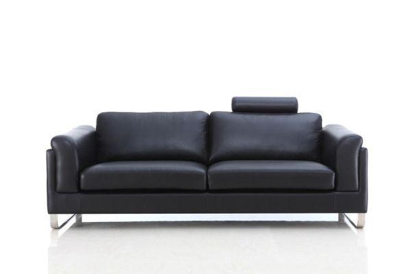 3er Ledersofa 3-Sitzer Sofa Couch Barletta Leder von Salottini