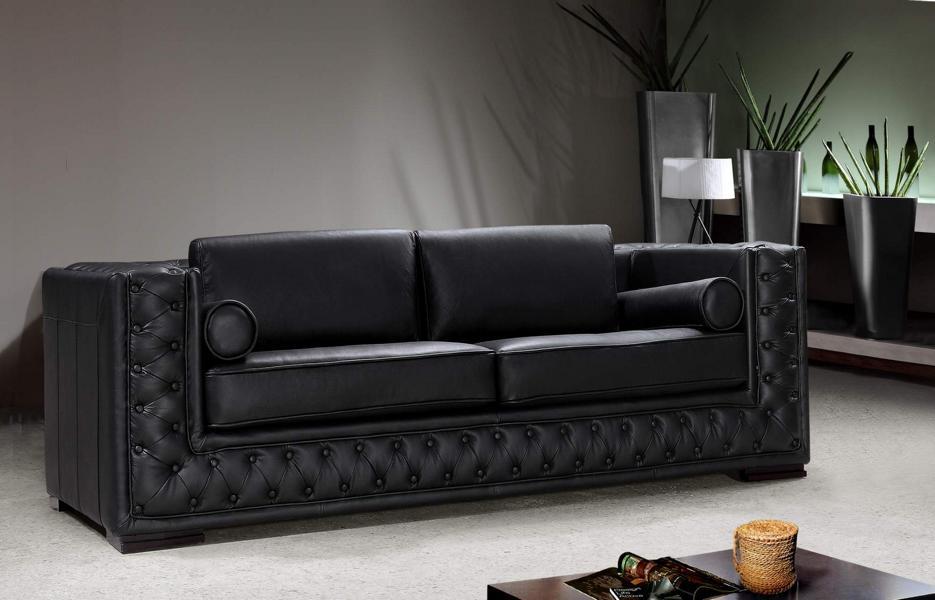 3er sofa couch matteo leder von salottini wohnwelten24h wohnwelten24h. Black Bedroom Furniture Sets. Home Design Ideas