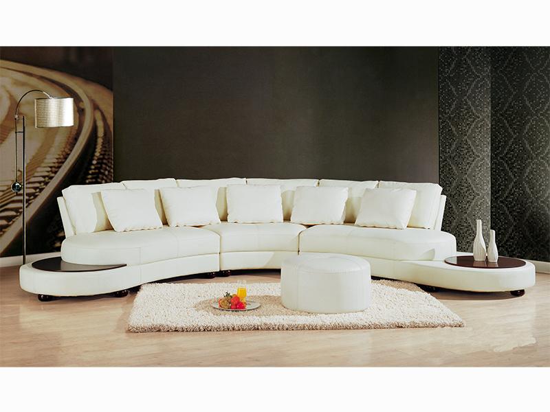 leder designer ecksofa rundsofa benito wohnwelten24h. Black Bedroom Furniture Sets. Home Design Ideas