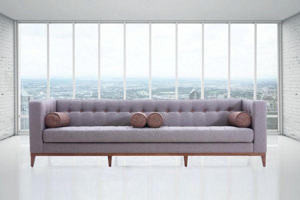 XL 4er Stoff Sofa Jade Megasofa von Salottini