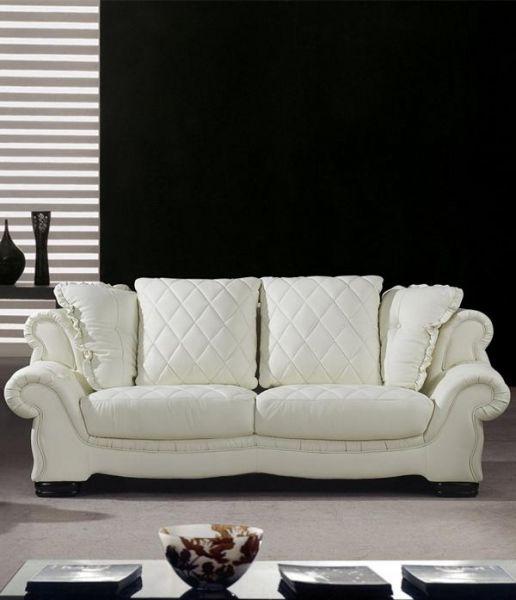 3er Ledersofa 3-Sitzer Sofa Couch Adamo Leder von Salottini