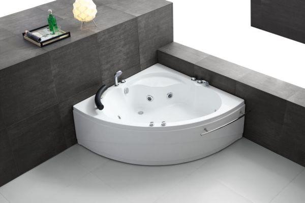 Whirlpool 135x135 Isar Badewanne Whirlwanne für 1 Person Sonderpreis