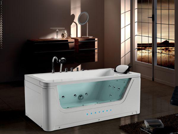 Whirlpool 170x90 Adelaide Badewanne Whirlwanne SONDERPREIS für 1 Person