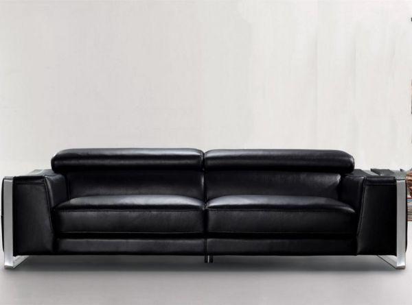 3er Ledersofa 3-Sitzer Sofa Couch Andrea Leder von Salottini
